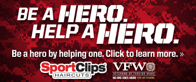 Sport Clips Chaska​ Help a Hero Campaign